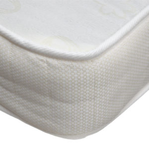 Budget mattress, showing the corner
