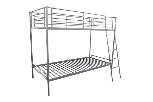 Metal Bunk beds with ladder