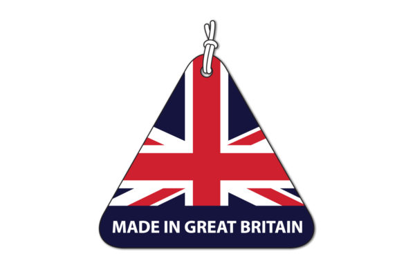 Made in Great Britain tag logo