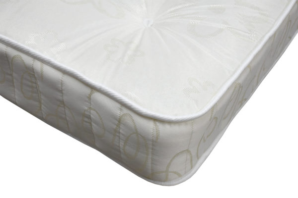 Handcraft Beds Chloe double mattress, showing the corner