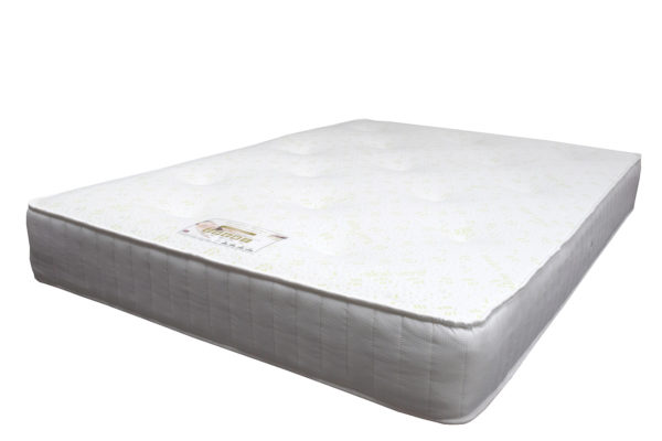Kensington Heritage memory foam luxury double mattress, showing the full size