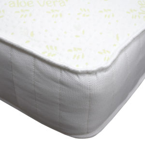 Kensington Heritage memory foam luxury double mattress, showing the corner