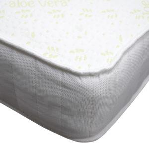 Kensington Heritage memory foam luxury double mattress, showing the corner