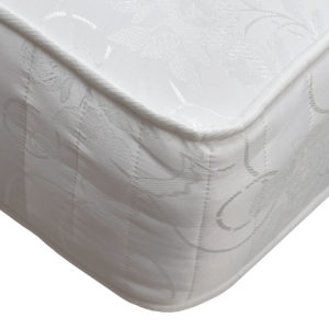 Serenity Comfort Somerford mattress, showing the corner