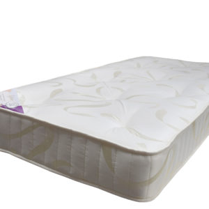 Handcraft Beds Aspire single mattress, showing the full size