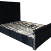 Crushed Velvet Brooke Bed in Black