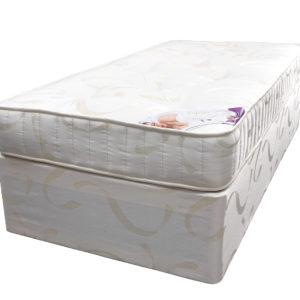 Divan Aspire bed base and Aspire Single mattress