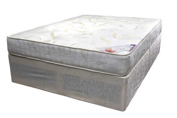 Divan Aspire bed base and Aspire double mattress