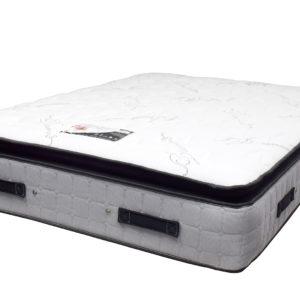 Serenity Comfort Mottram Pillow Top Double Mattress, showing all