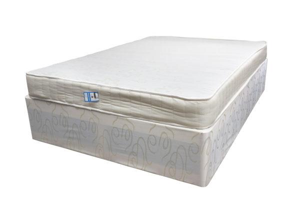 Budget divan double bed set includes divan base and mattress