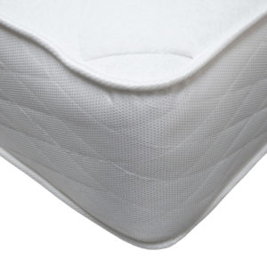 Serenity Comfort Tabley mattress, showing the corner