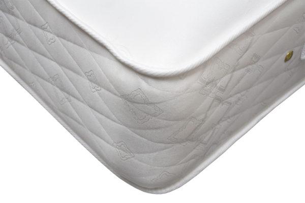 Balmoral mattress, showing the corner