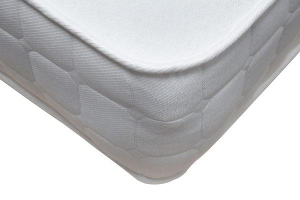 Serenity Comfort Belmont mattress showing the corner