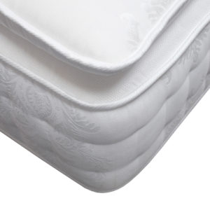 Serenity Comfort Premier double mattress showing the corner