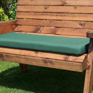 3 seater waterproof cushion seat in green