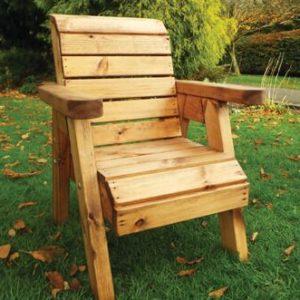 Kids garden furniture solid wooden chair